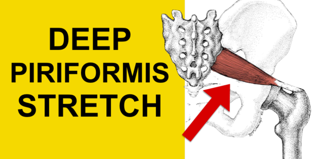 deep piriformis syndrome stretch