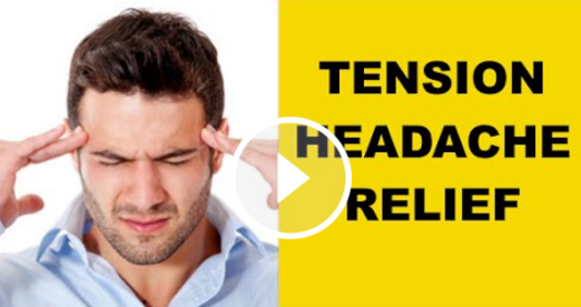 Tension Headache & Neck Pain Exercises (INSTANT RELIEF REMEDY) — The