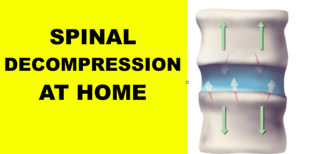 spinal decompression at home