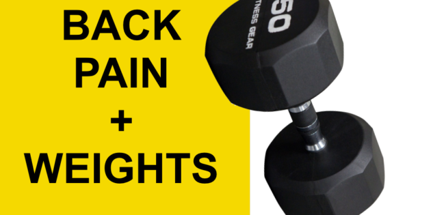 herniated disc weights