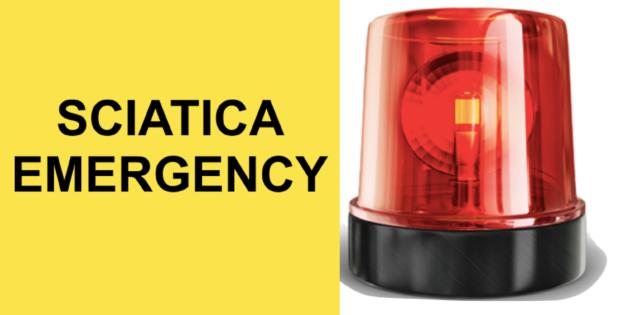 sciatica medical emergency