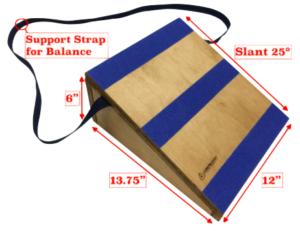25 degree slant board