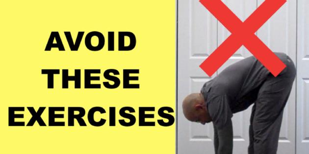 Lumbar Slipped Disc Causing Sciatica Avoid These 3 Exercises The